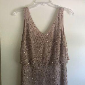 BHLDN Blaise dress size 2 color blush